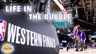 Life in the Bubble: Ep. 16 - Family Time + Western Finals Game 1 v. Nuggets | JaVale McGee Vlogs