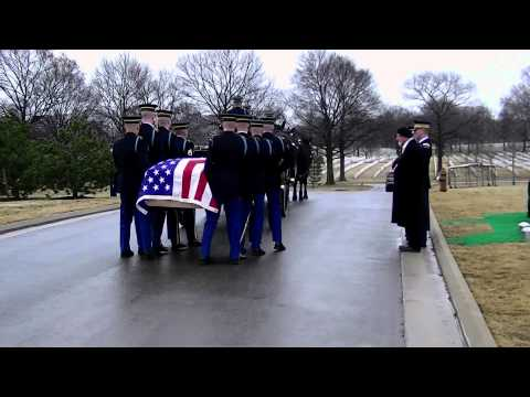 Major U.S. Army Donald B. York - Full Military Honors Funeral, Arlington National Cemetery