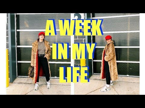 A WEEK IN MY LIFE #11 - THRIFTING, DEPOPIN', OOTW, & IWD!