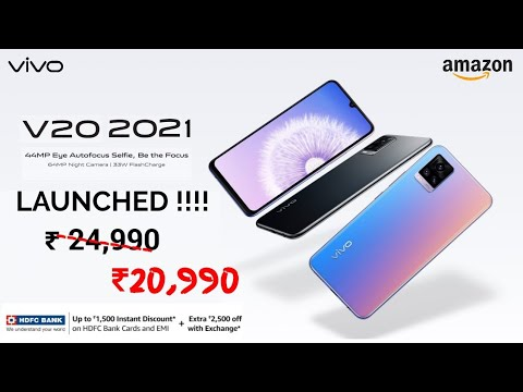 VIVO V20 (2021) LAUNCHED - SPECIFICATION AND OFFERS