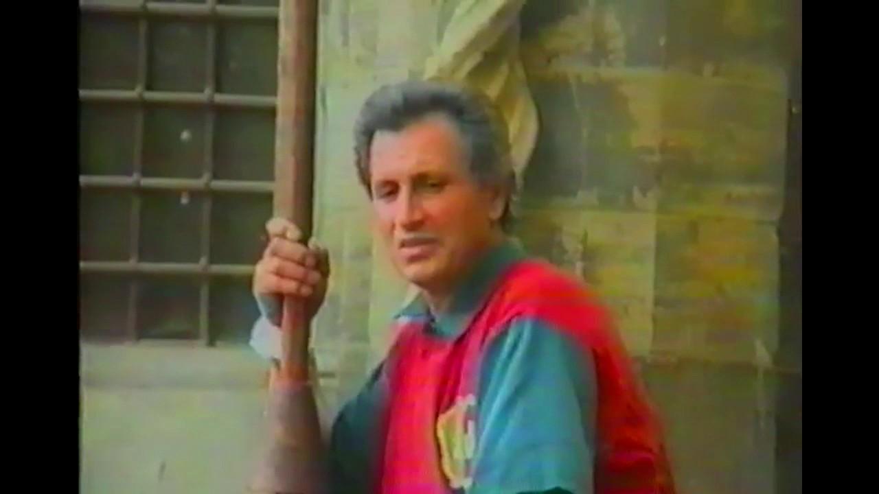80a Giostra del Saracino 8 settembre 1991 - Prove in Piazza