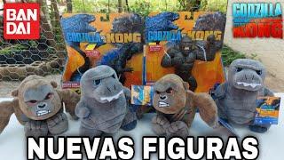 Llegaron Nuevas Figuras de Godzilla vs. Kong | @Bandai México