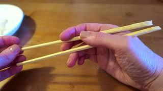 как правильно кушать китайскими палочками (урок # 1)