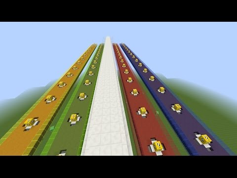 Minecraft LUCKY BLOCK RACE + PvP ! ! !