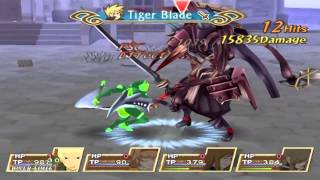 Tales of the Abyss - Sword Dancer (Guy Solo / Unknown Mode)