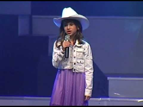 Lydia, 6 years old, yodeling.