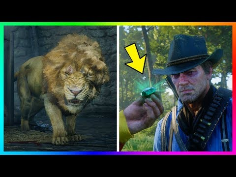 If You Hunt Down This Legendary Lion In Red Dead Redemption 2 You'll Get The BEST Item In The Game!