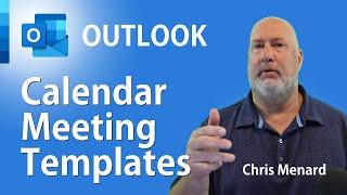 Outlook Calendar Meeting Template