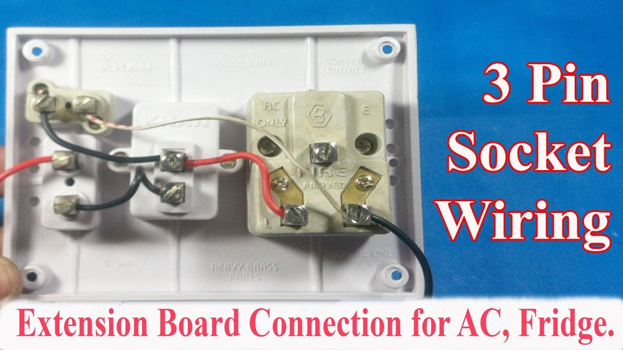ac board wiring wiring diagram megahow to make an electrical extension board connection for ac  [ 1280 x 720 Pixel ]