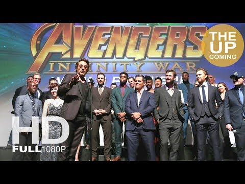 Avengers Infinity War premiere highlights