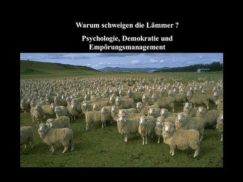 """Rainer Mausfeld: """"Warum schweigen die Lämmer?"""" - Techniken des Meinungs- und Empörungsmanagements"""