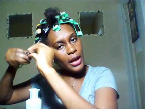26 HAIR Sponge Rollers On Stretched Natural Hair YouTube