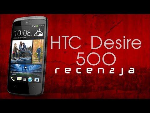 [Mobileo #56] Recenzja HTC Desire 500   TEST PL