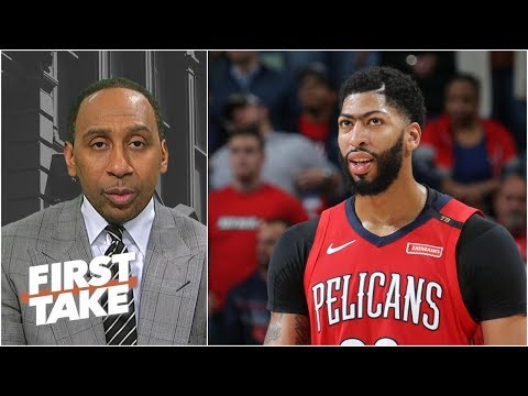 Anthony Davis is key to LeBron鈥檚 NBA title hopes with Lakers - Stephen A. | First Take