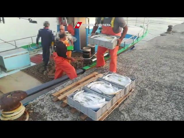 Pantelleria: la Guardia Costiera ferma un peschereccio maltese 24-10-2020