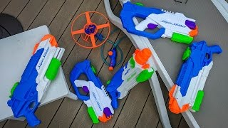 MASSIVE NERF SUPER SOAKER HAUL 2017!!