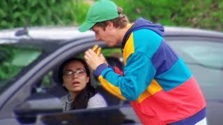 Eating Peoples Fast Food Prank