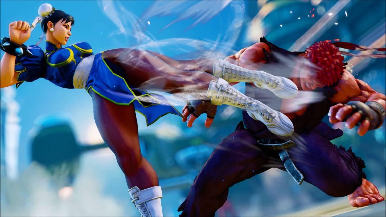 Street Fighter V Chun Li English Voice Gallery Youtube