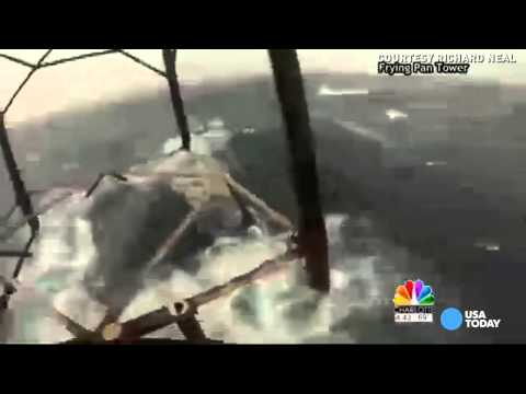 What it's like to weather Hurricane Arthur at sea