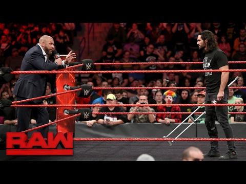 Seth Rollins addresses his in-ring future: Raw, Feb. 27, 2017