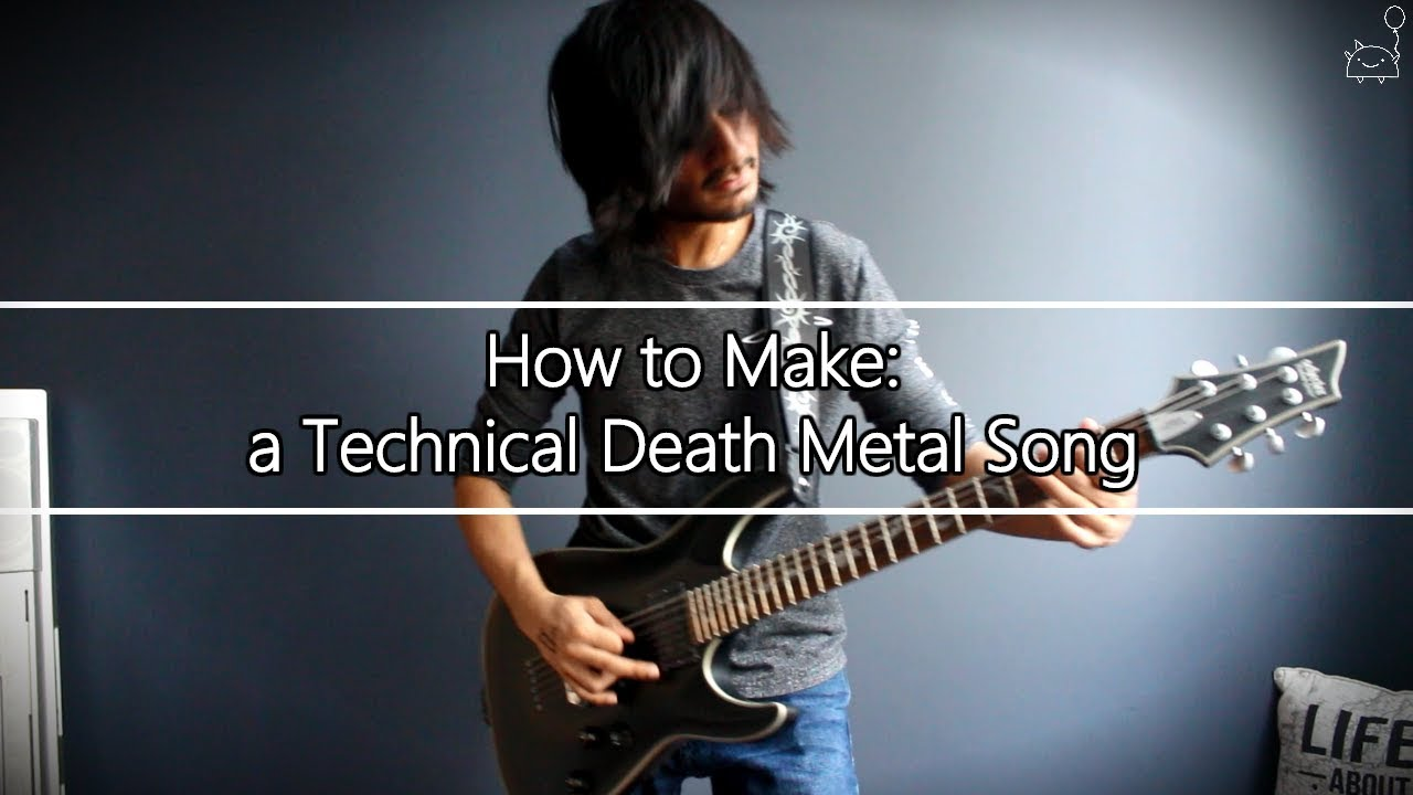 how to write a metal song