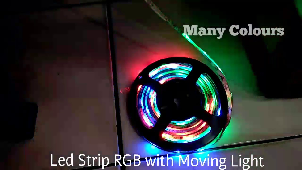 Lampu Led Untuk Kamar Lampu Led Strip Rgb Moving Light Running 5050 Waterproof Untuk Kamar Gaming Room Banner Papan Nama