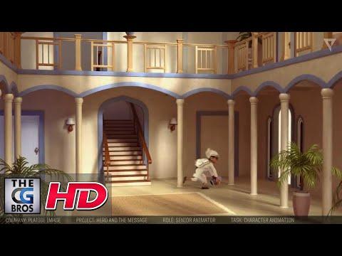"CGI 3D Animation Progression HD: ""Hero and the Message"" by - Luke Burnet"