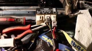Electric Fan Conversion Installation In A Volvo 240 1984 Volvo Restoration 245 Station Wagon Pt 4