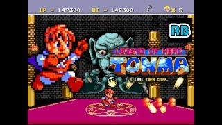 1991 [TAS 60fps] PCE Legend of Hero Tonma Nomiss ALL