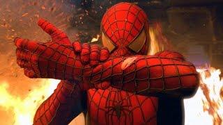 Spider-Man vs Green Goblin - Razor Fight Scene - Spider-Man (2002) Movie CLIP HD