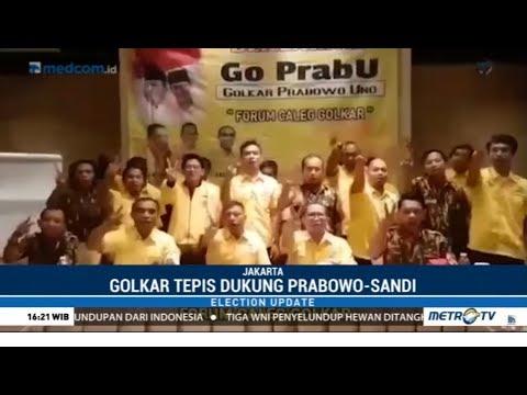 Golkar : Kader Dukung Prabowo-Sandi Tak Mewakili Partai