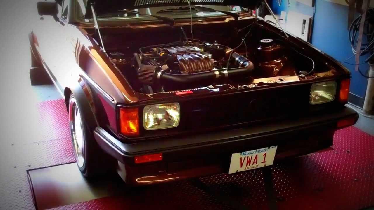 Neuspeed Supercharged 83 Vw Rabbit Gti On The Dyno Youtube 1983 Volkswagen