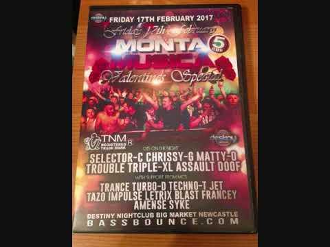 Dj Matty-O - Mc's Letrix & Impulse @ Monta Musica Valentines Special 2017