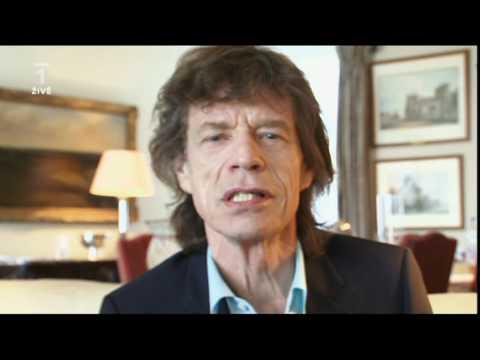 Mick Jagger - zdravice pro koncert