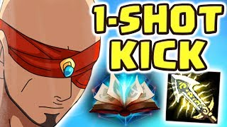 THE LEGENDARY 1-SHOT KICK | HE UNINSTALLED AFTER | THIS IS ACTUALLY SO FUN!! FULL AD LEE SIN JUNGLE