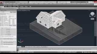 hsbCAD Log. Проектирование деревянных домов из профилированного бруса. Часть 19.
