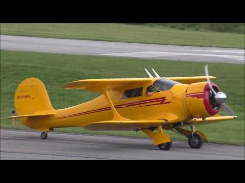 Beechcraft Staggerwing Bedford County Airport
