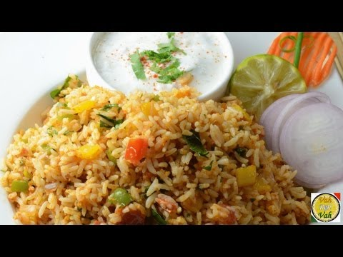 Spicy Sambhar Fried Rice - By VahChef @ VahRehVah.com