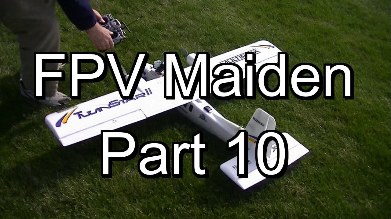 Vector OSD Twin Star Maiden Test Flight -FPV Build Part 10 - YouTube