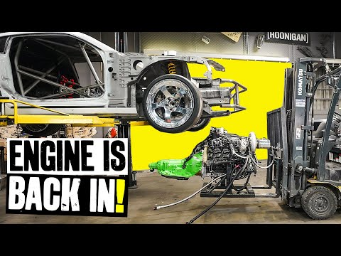 Our 1000hp Duramax Diesel Goes Back Into the Camaro For Final Assembly // Knuckle Busters 2 Ep.11