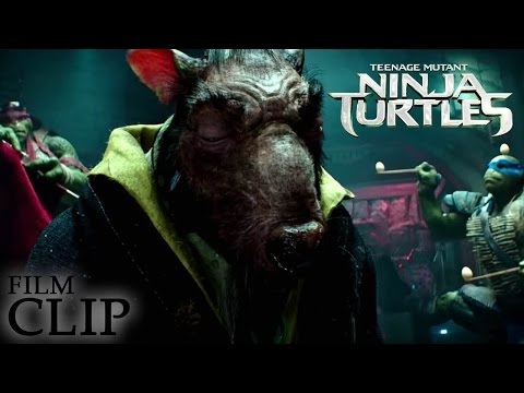 TEENAGE MUTANT NINJA TURTLES  -  Where Were You Last Night - Official Clip (HD)