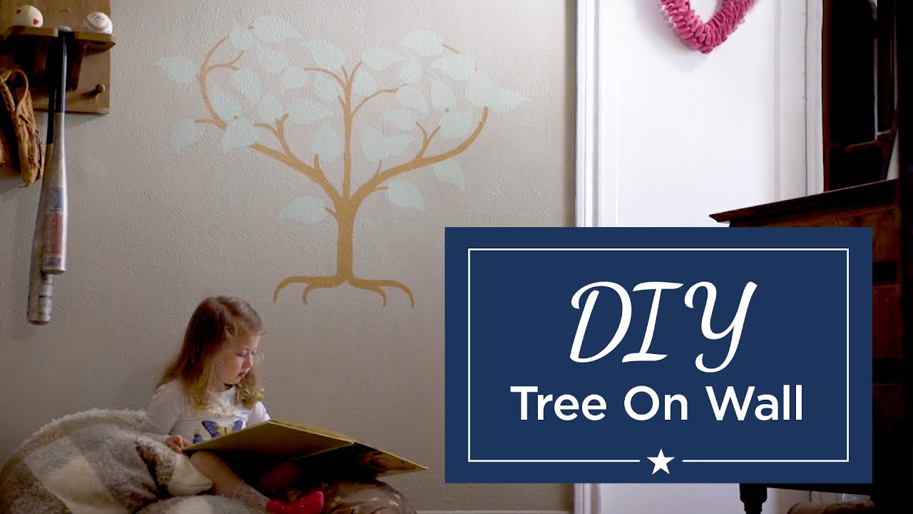 How To Paint Trees On The Wall Five Star Painting