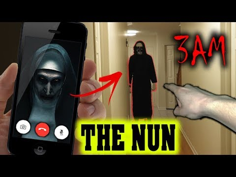 DO NOT CALL THE NUN ON FACETIME AT 3 AM!! (SHE TOOK MY FRIEND!)