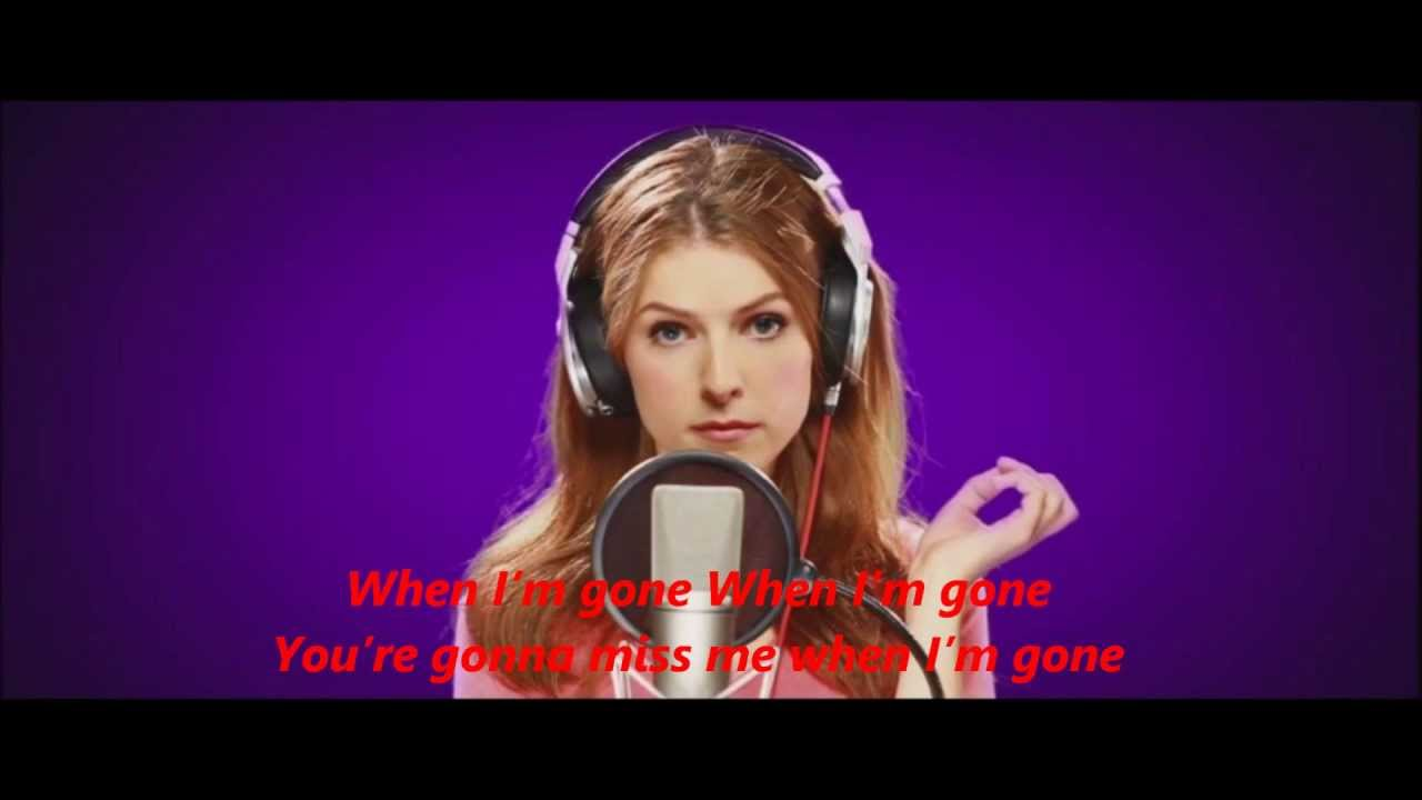 Anna kendrick songs in pitch perfect
