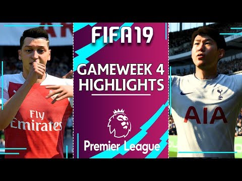 north-london-derby- -fifa-premier-league-2019/20- -gameweek-4-highlights