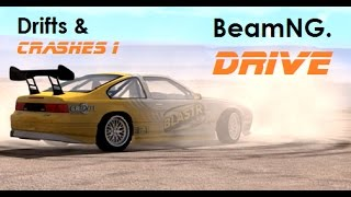BeamNG. Drive - Drifts and Crashes 1 [Real Voices]