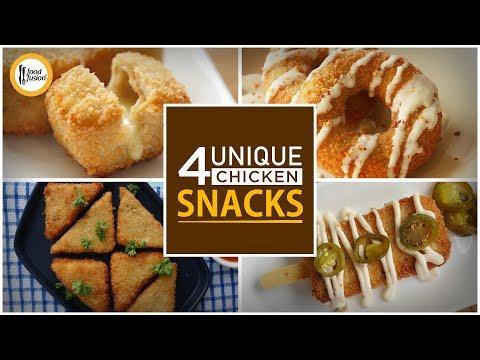 4 Unique Chicken Snacks By Food Fusion (Ramzan Special Recipes)