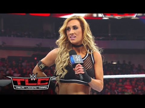Carmella reveals the identity of Nikki Bella's mystery attacker: WWE TLC 2016