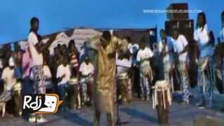 Tambour major Doudou Ndiaye Rose Junior au Festival FECUTLAR_2013 au Lac Rose