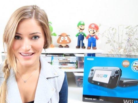 Wii U unboxing! 32GB Black Deluxe Set...